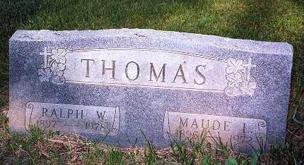 THOMAS, MAUDE LILLIAN - Hancock County, Ohio | MAUDE LILLIAN THOMAS - Ohio Gravestone Photos