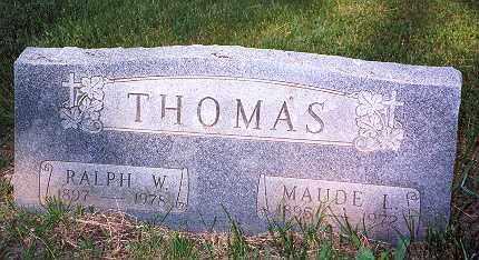 THOMAS, RALPH WILLIAM - Hancock County, Ohio | RALPH WILLIAM THOMAS - Ohio Gravestone Photos