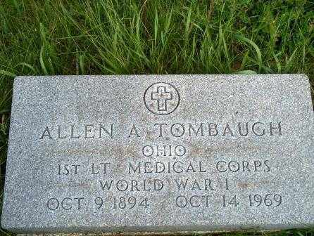 TOMBAUGH, ALLEN - Hancock County, Ohio | ALLEN TOMBAUGH - Ohio Gravestone Photos