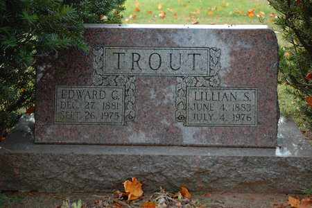 TROUT, LILLIAN S. - Hancock County, Ohio | LILLIAN S. TROUT - Ohio Gravestone Photos