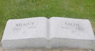 BUROKER, WILMA - Hardin County, Ohio   WILMA BUROKER - Ohio Gravestone Photos