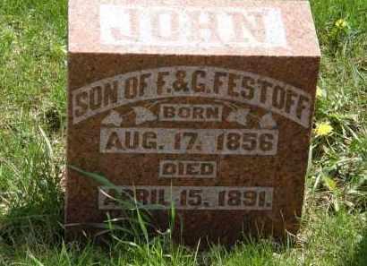 FESTOFF, G. - Hardin County, Ohio | G. FESTOFF - Ohio Gravestone Photos