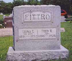 FITTRO, LEONA E. - Hardin County, Ohio | LEONA E. FITTRO - Ohio Gravestone Photos