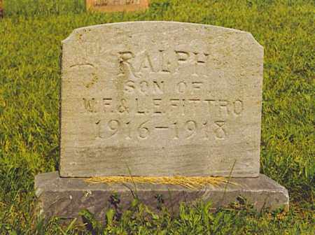 FITTRO, RALPH - Hardin County, Ohio | RALPH FITTRO - Ohio Gravestone Photos