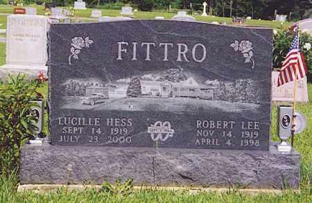 FITTRO, LUCILLE HESS - Hardin County, Ohio | LUCILLE HESS FITTRO - Ohio Gravestone Photos