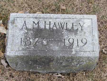 HAWLEY, ASA MILROY - Hardin County, Ohio   ASA MILROY HAWLEY - Ohio Gravestone Photos