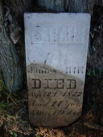 HILL, SARAH - Hardin County, Ohio | SARAH HILL - Ohio Gravestone Photos