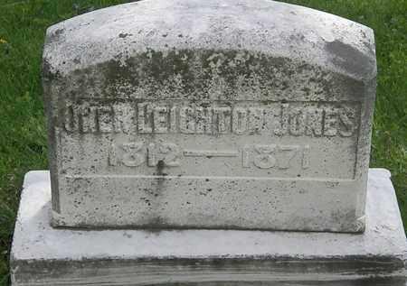 JONES, OWEN LEIGHTON - Hardin County, Ohio | OWEN LEIGHTON JONES - Ohio Gravestone Photos