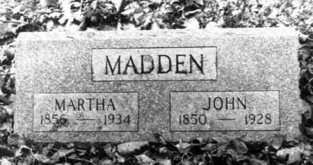 MADDEN, JOHN - Hardin County, Ohio | JOHN MADDEN - Ohio Gravestone Photos
