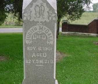 BLOOMFIELD MCCALL, JUDITH - Hardin County, Ohio | JUDITH BLOOMFIELD MCCALL - Ohio Gravestone Photos