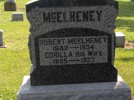 MCELHENEY, CORILLA ANN - Hardin County, Ohio | CORILLA ANN MCELHENEY - Ohio Gravestone Photos
