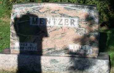MENTZER, EARL - Hardin County, Ohio   EARL MENTZER - Ohio Gravestone Photos