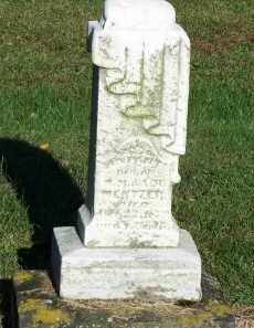 MENTZER, INFANT DAUGHTER - Hardin County, Ohio | INFANT DAUGHTER MENTZER - Ohio Gravestone Photos