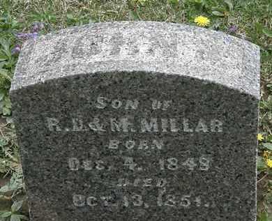 MILLAR, M. - Hardin County, Ohio | M. MILLAR - Ohio Gravestone Photos