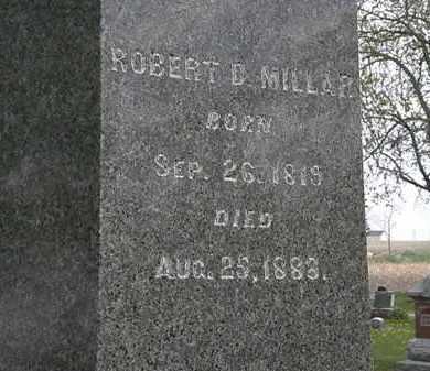 D. MILLAR, ROBERT - Hardin County, Ohio | ROBERT D. MILLAR - Ohio Gravestone Photos