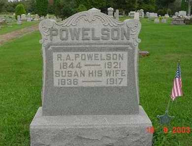 POWELSON, ROBERT ALEXANDER - Hardin County, Ohio | ROBERT ALEXANDER POWELSON - Ohio Gravestone Photos