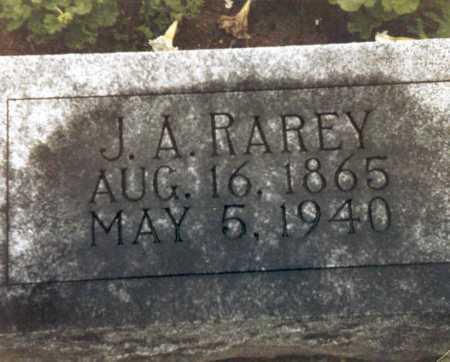 RAREY, J. A. - Hardin County, Ohio | J. A. RAREY - Ohio Gravestone Photos