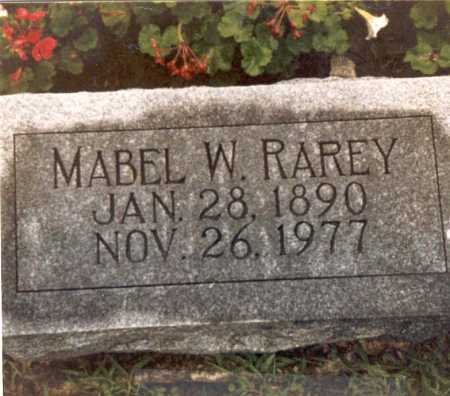 WELLS RAREY, MABEL - Hardin County, Ohio | MABEL WELLS RAREY - Ohio Gravestone Photos