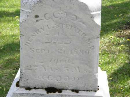STEINER  M.D., HENRY L. - Hardin County, Ohio   HENRY L. STEINER  M.D. - Ohio Gravestone Photos