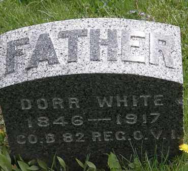 WHITE, DORR - Hardin County, Ohio | DORR WHITE - Ohio Gravestone Photos