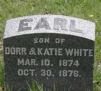 WHITE, DORR - Hardin County, Ohio | DORR WHITE - Ohio Gravestone Photos