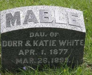 WHITE, KATIE - Hardin County, Ohio | KATIE WHITE - Ohio Gravestone Photos