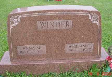 POWELSON WINDER, ANNA M. - Hardin County, Ohio | ANNA M. POWELSON WINDER - Ohio Gravestone Photos