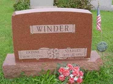 WINDER, ERDINE - Hardin County, Ohio | ERDINE WINDER - Ohio Gravestone Photos