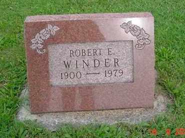 WINDER, ROBERT ELIHU - Hardin County, Ohio | ROBERT ELIHU WINDER - Ohio Gravestone Photos