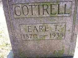 COTTRELL, EARL T. - Hardin County, Ohio | EARL T. COTTRELL - Ohio Gravestone Photos