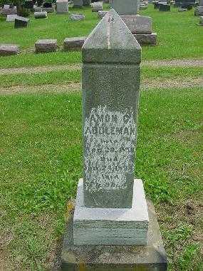 ADDLEMAN, AMON- MONUMENT - Harrison County, Ohio | AMON- MONUMENT ADDLEMAN - Ohio Gravestone Photos