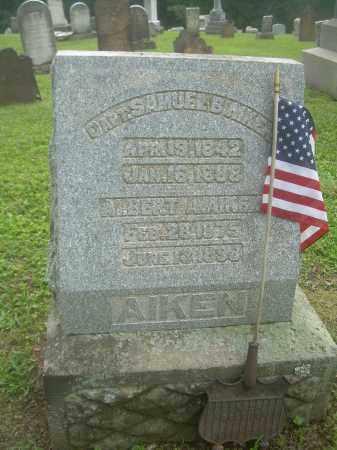 AIKEN, SAMUEL - Harrison County, Ohio | SAMUEL AIKEN - Ohio Gravestone Photos