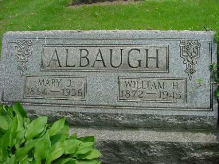 ALBAUGH, WILLIAM H. - Harrison County, Ohio | WILLIAM H. ALBAUGH - Ohio Gravestone Photos