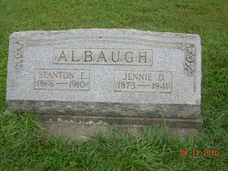 ALBAUGH, JENNIE D - Harrison County, Ohio | JENNIE D ALBAUGH - Ohio Gravestone Photos