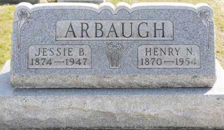 WEBSTER ARBAUGH, JESSIE B. - Harrison County, Ohio | JESSIE B. WEBSTER ARBAUGH - Ohio Gravestone Photos