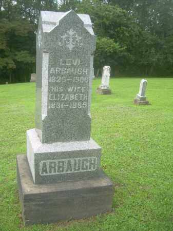 ARBAUGH, ELIZABETH - Harrison County, Ohio   ELIZABETH ARBAUGH - Ohio Gravestone Photos