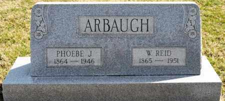 ARBAUGH, PHOEBE J. - Harrison County, Ohio | PHOEBE J. ARBAUGH - Ohio Gravestone Photos