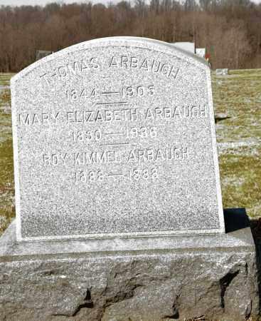 ARBAUGH, THOMAS - Harrison County, Ohio | THOMAS ARBAUGH - Ohio Gravestone Photos