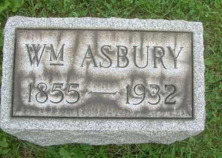 ASBURY, WILLIAM - Harrison County, Ohio | WILLIAM ASBURY - Ohio Gravestone Photos