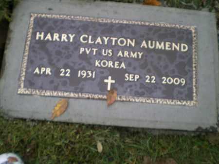 AUMEND, HARRY CLAYTON - Harrison County, Ohio | HARRY CLAYTON AUMEND - Ohio Gravestone Photos