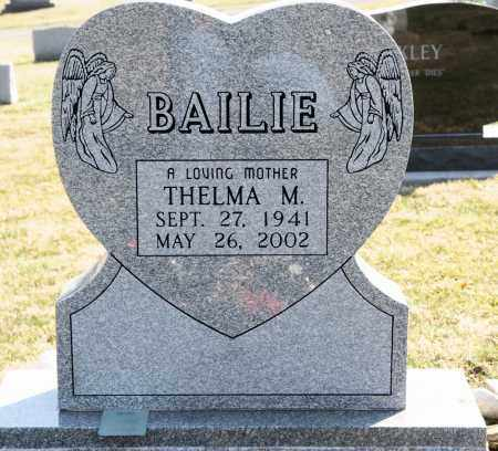 BAILIE, THELMA M. - Harrison County, Ohio | THELMA M. BAILIE - Ohio Gravestone Photos