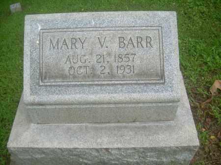 HERMANN BARR, MARY V - Harrison County, Ohio | MARY V HERMANN BARR - Ohio Gravestone Photos