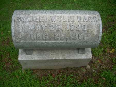 BARR, SAMUEL WYLIE - Harrison County, Ohio   SAMUEL WYLIE BARR - Ohio Gravestone Photos