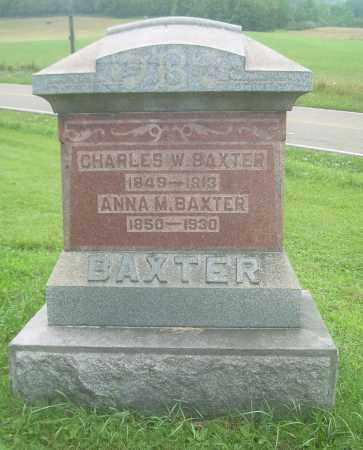 BAXTER, CHARLES W - Harrison County, Ohio | CHARLES W BAXTER - Ohio Gravestone Photos