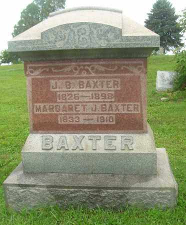 BAXTER, J B - Harrison County, Ohio | J B BAXTER - Ohio Gravestone Photos