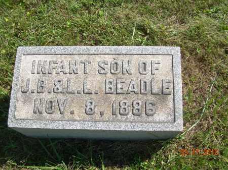 BEADLE, INFANT SON - Harrison County, Ohio   INFANT SON BEADLE - Ohio Gravestone Photos