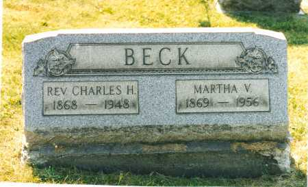 BECK, CHARLES H. - Harrison County, Ohio | CHARLES H. BECK - Ohio Gravestone Photos