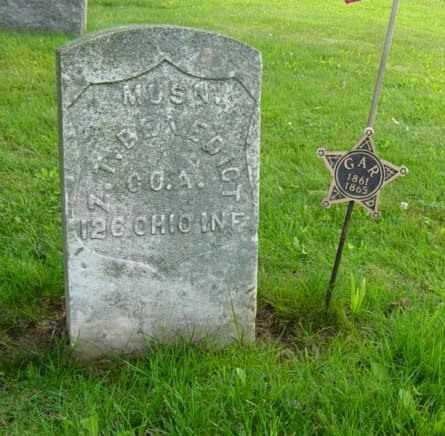 BENEDICT, ZACHARIAH TAYLOR - Harrison County, Ohio   ZACHARIAH TAYLOR BENEDICT - Ohio Gravestone Photos