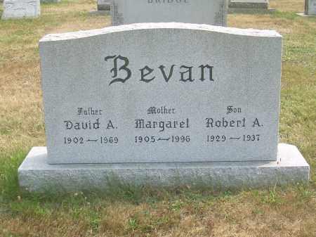 BEVAN, MARGARET - Harrison County, Ohio | MARGARET BEVAN - Ohio Gravestone Photos