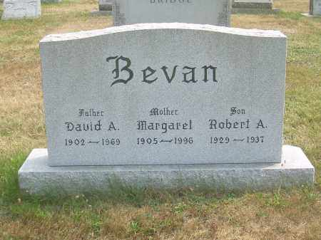 BEVAN, ROBERT A - Harrison County, Ohio | ROBERT A BEVAN - Ohio Gravestone Photos